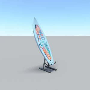 3D surfboard v2
