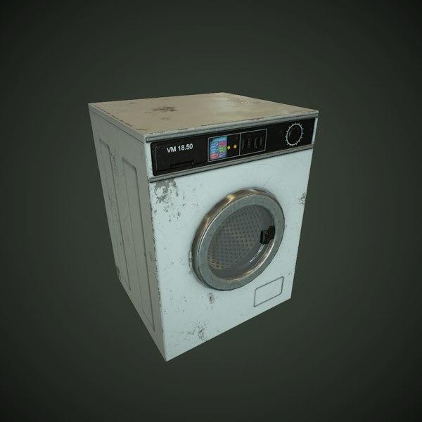 3D games animation model
