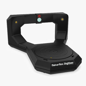 3D desktop scanner makerbot digitizer model