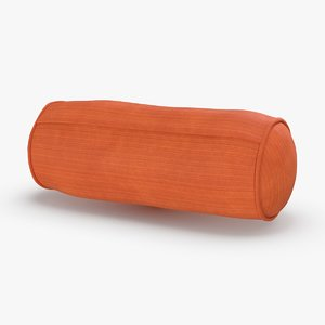 3D bolster-cushion-03---red