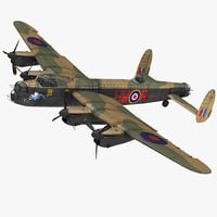 british heavy bomber avro lancaster model