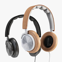 3D headphones h6 model