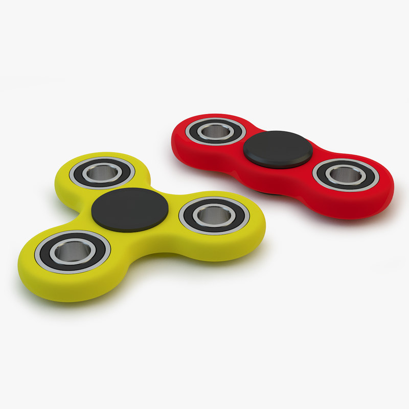 fidget spinners 3D model