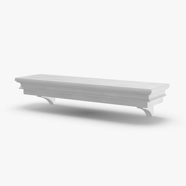 wall-shelf-03---3ft 3D model