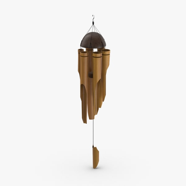 wind-chime-02 3D model