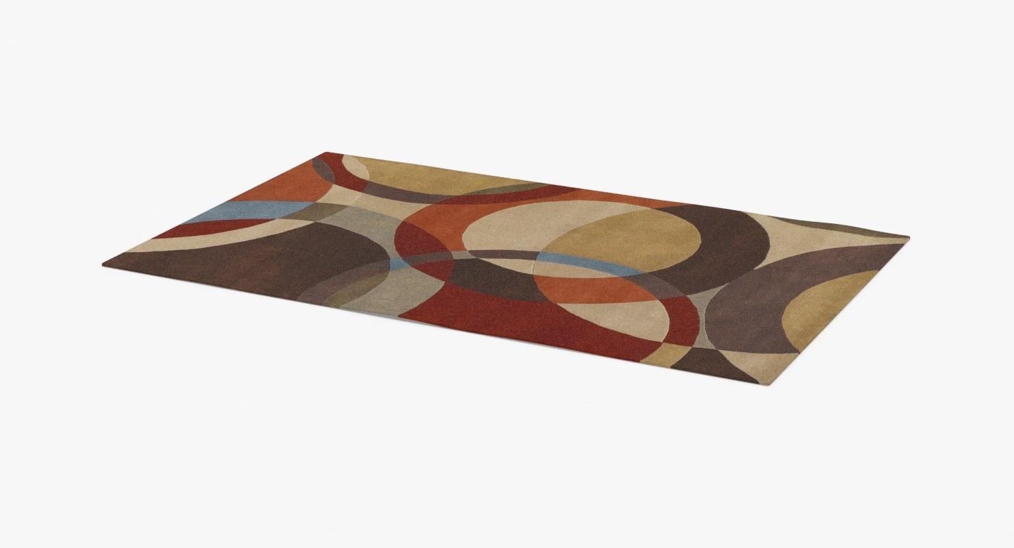 area-rug-01---stem 3D model