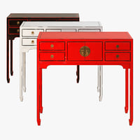 butlers rising sun console table