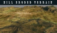 hill terrain model