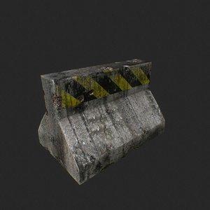 block 3D model