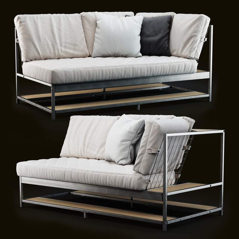 Liegesofa Ikea 3d ikea ekebol sofa turbosquid 1168809
