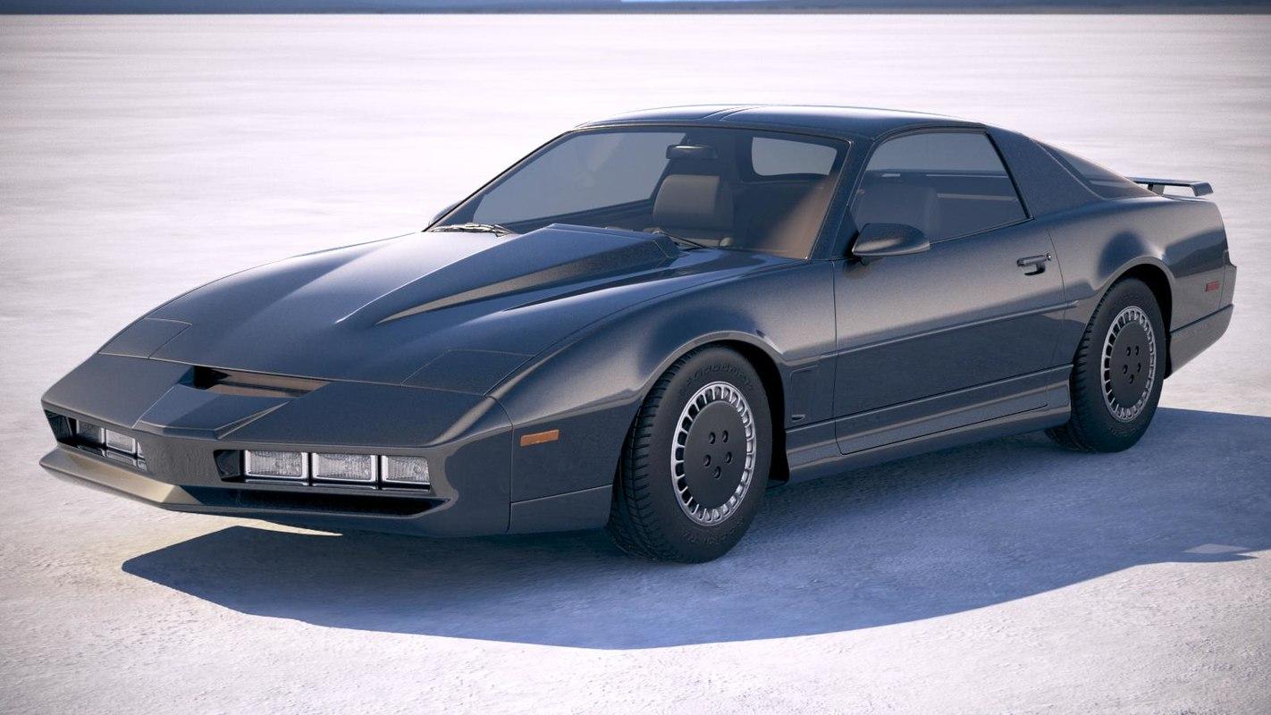 3D pontiac trans 1982 model