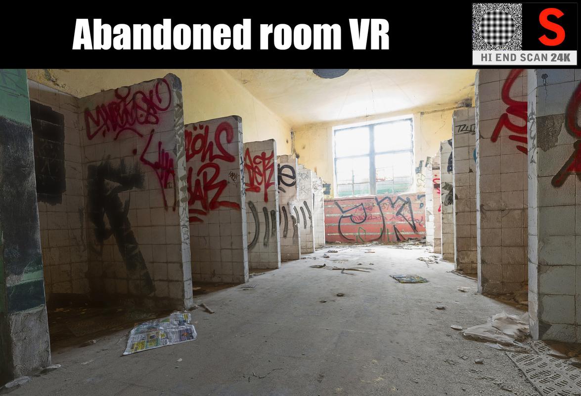 abandoned factory 24k 3D model