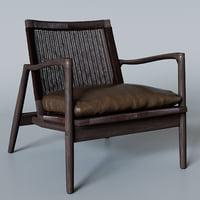 3D sebago rattan chair
