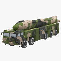 Chinese DF-21 Missile