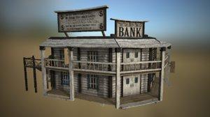 bank western 3D