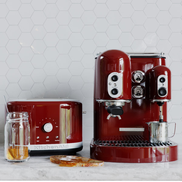 3D coffee toaster model