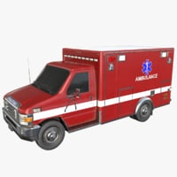ambulance asset real 3D