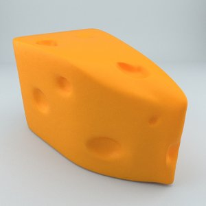 3D cheese product