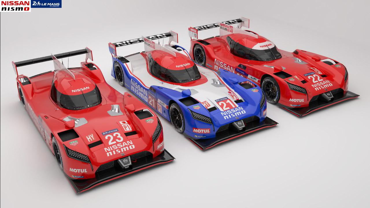 3 lmp1 gtr 3D model