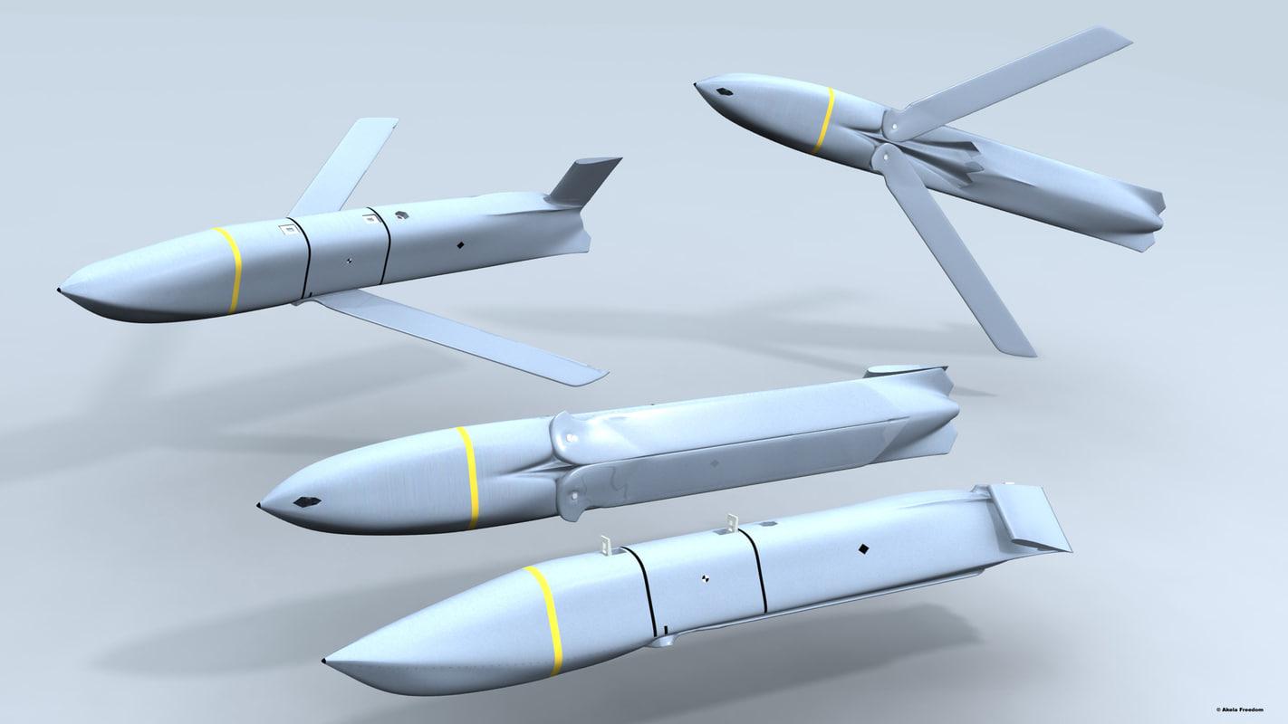 3D agm-158 jassm model