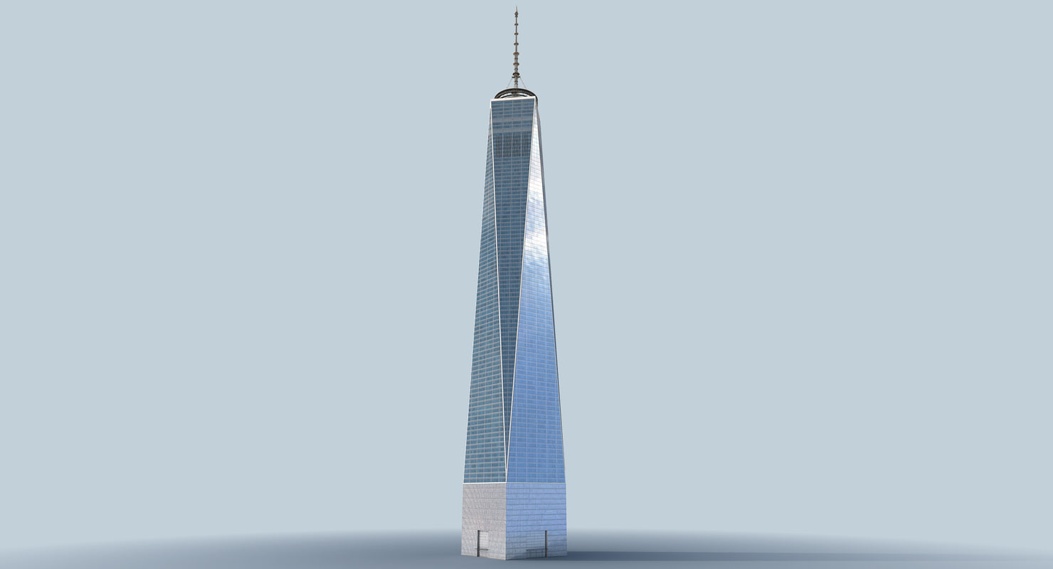 Freedom Tower 3d Model Turbosquid 1168997