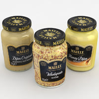 Food Jar Maille Mustards collection