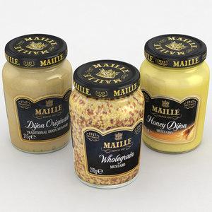 maille mustard 3D model