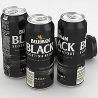 Beer Can Belhaven Black Scottish Stout 500ml