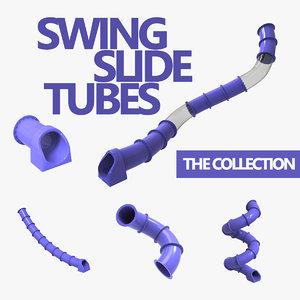 3D slide tubes
