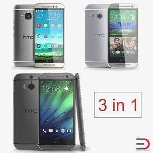 htc phones 3D model