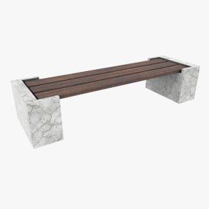 ready street bench model