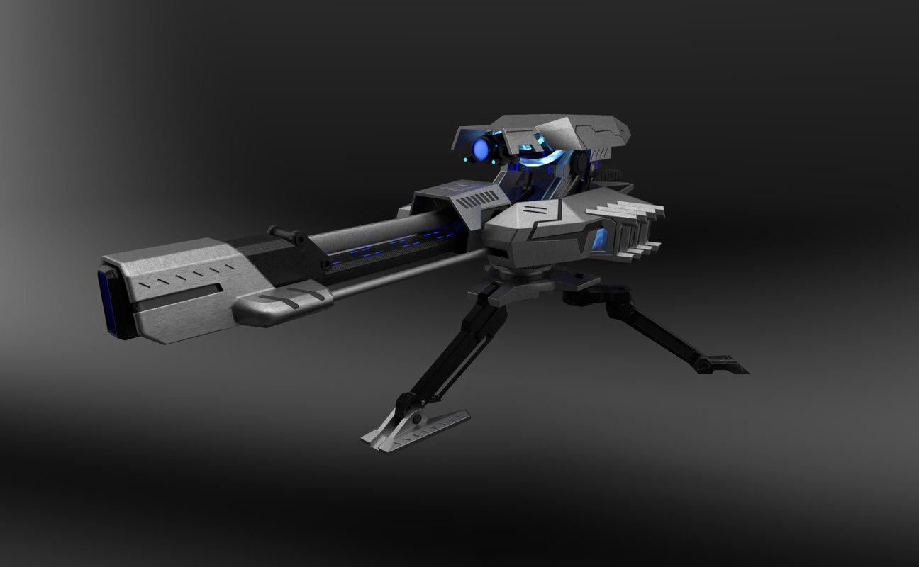 plasma turret 3D