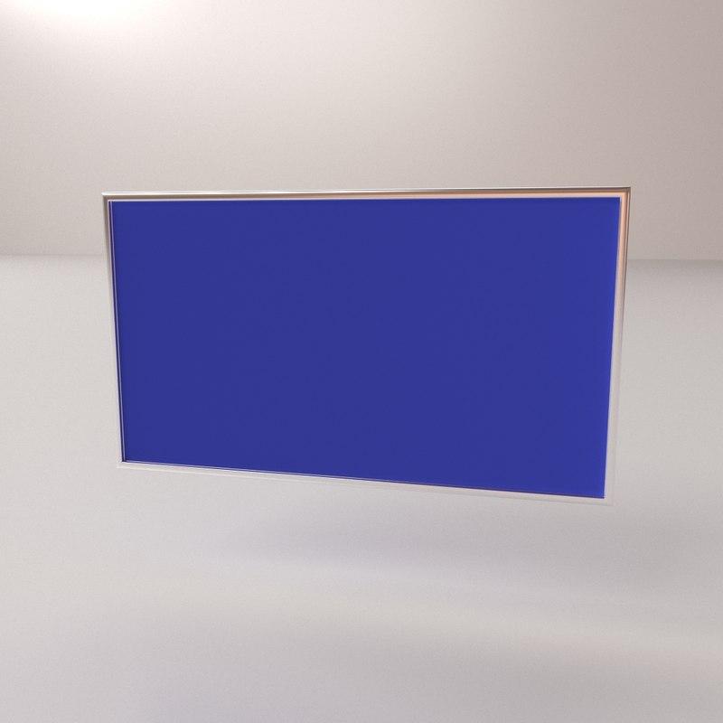 soft board 3D model