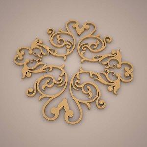 ornament 3D model