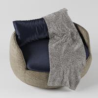 3D bart armchair
