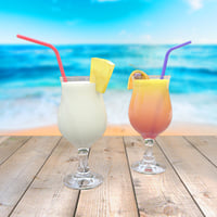 pina colada sex beach 3D model
