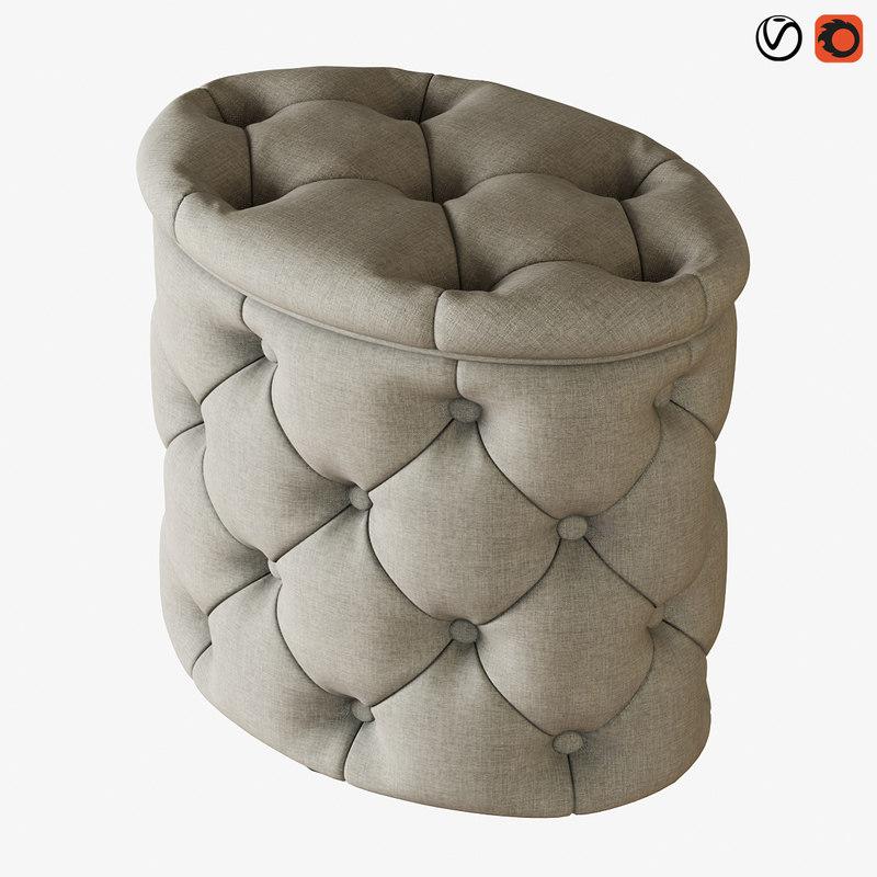 pouf gabrielli sofa chair model