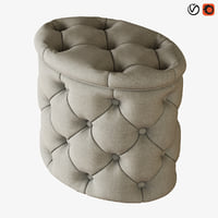pouf gabrielli sofa chair model