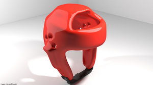 3D model guard headguard martial