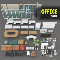 office items model