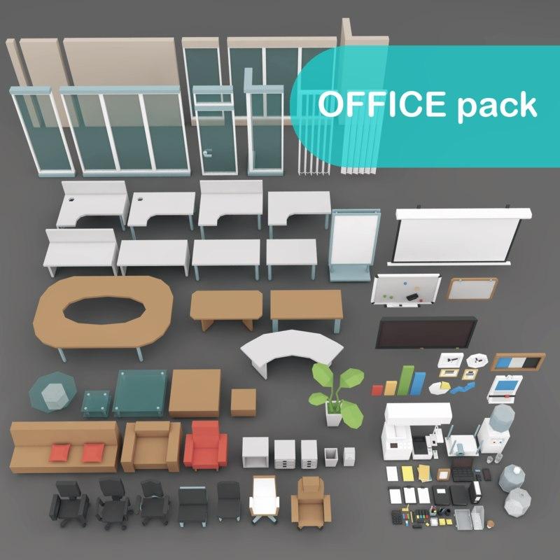 office items model