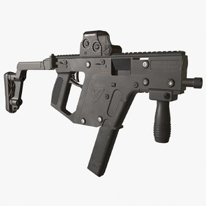 3D model kriss vector rifle