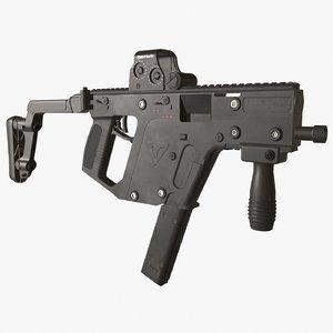3D model kriss vector rifle
