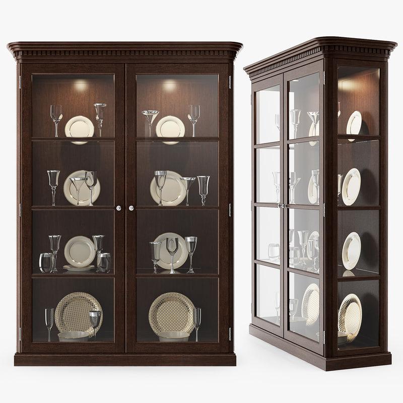 3D eichholtz - cabinet display model
