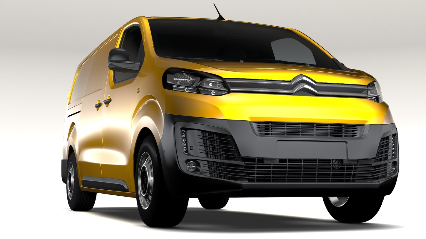 3D citroen jumpy l3 model