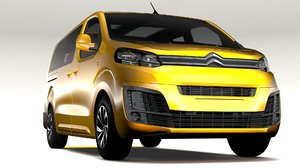 3D citroen spacetourer l3 model