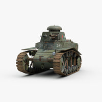 3D ww2 soviet t18 light tank