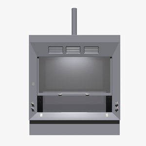 3D distillation hood model