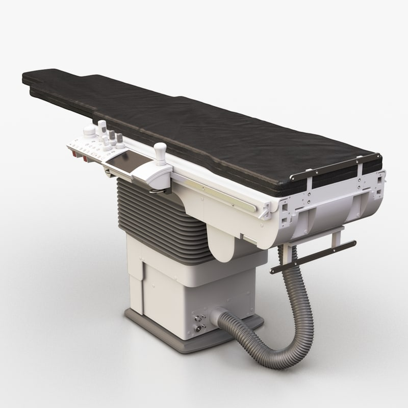 siemens operating room table 3D model