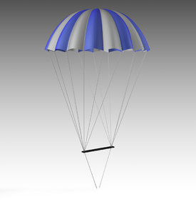 parachute chute chu model